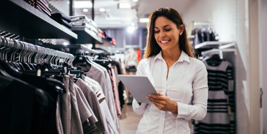 Digital transformation success story- efficient retail business and a happy employee